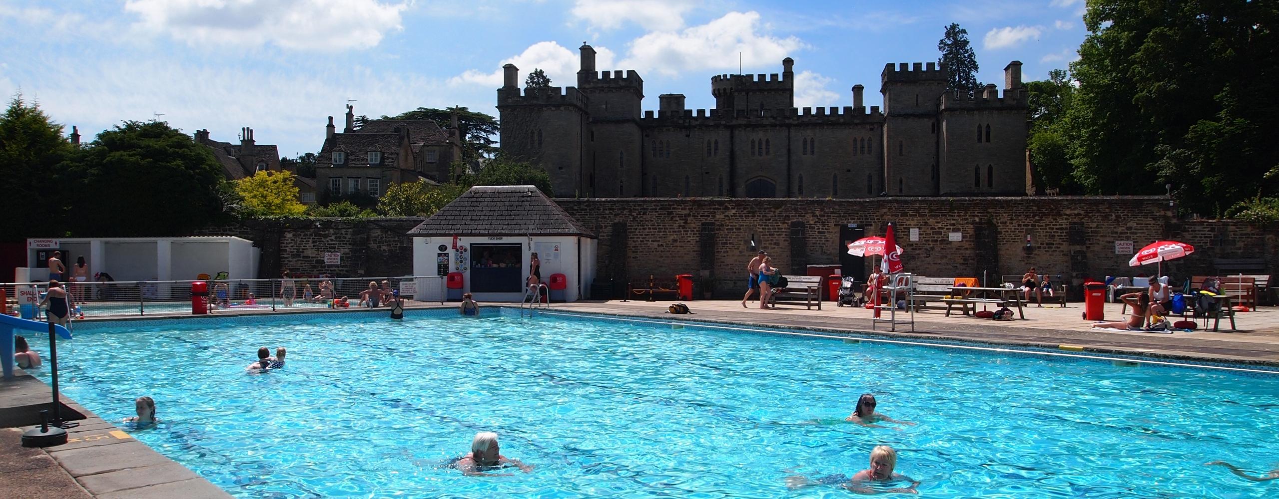 Lido waterlog reswum - Hathersage open air swimming pool ...