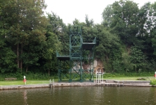 The diving boards