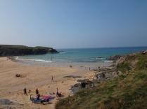 Treyarnon beach