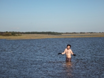 Tim in the marshes