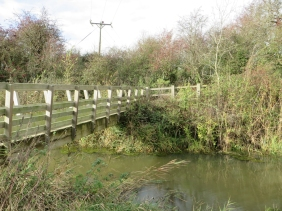 The bridge over the old canal